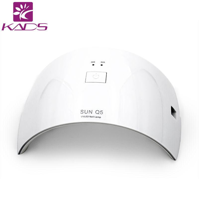 KADS Professional Nail Dryer UV Light White Color 24W LED UV Lamp ...