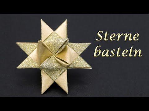 sterne basteln zu weihnachten fr belsterne falten einfache anleitung youtube origami. Black Bedroom Furniture Sets. Home Design Ideas