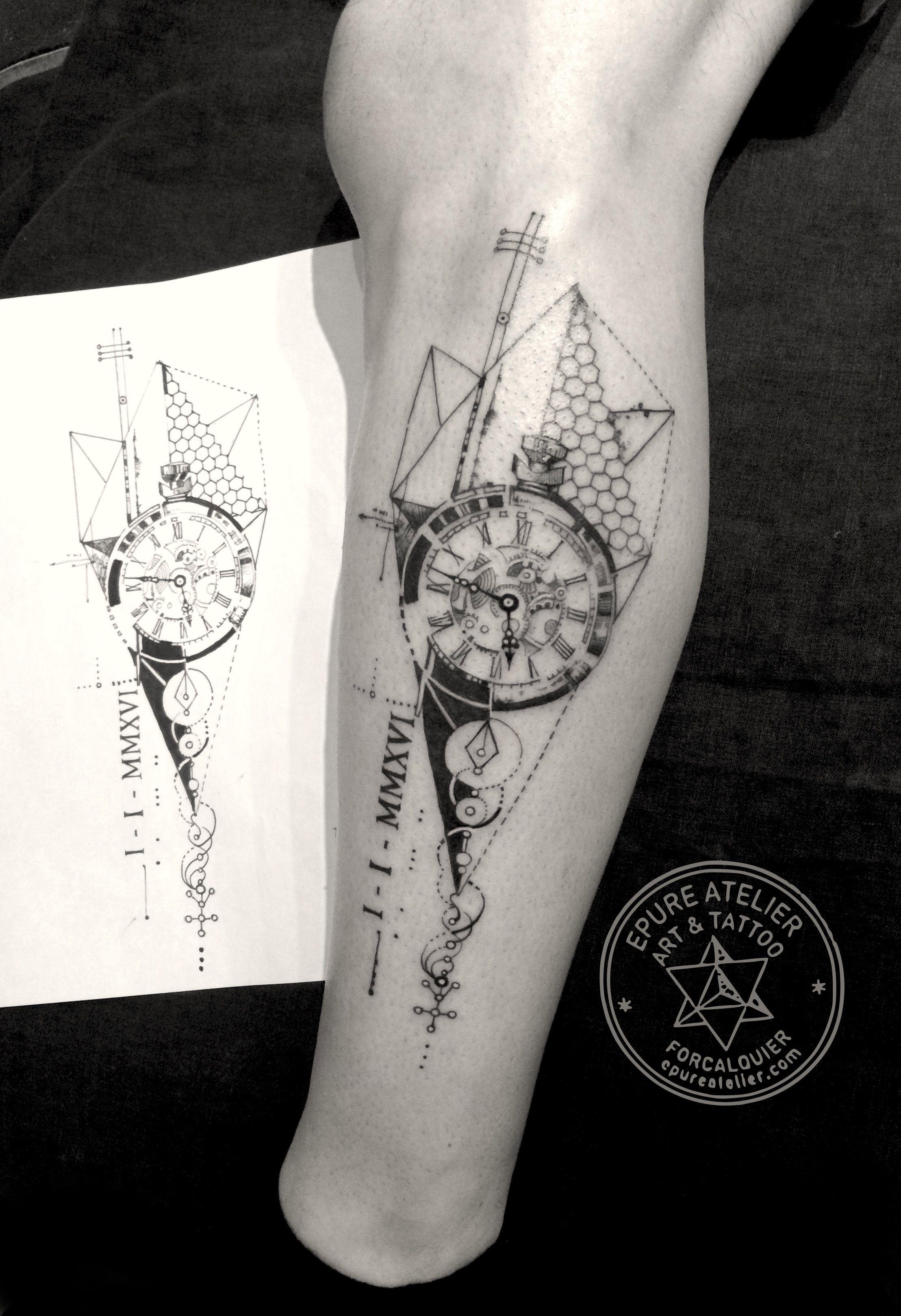 Epingle Par Nicolas Castillo Sur Tatoo Tatuaje Geometrico