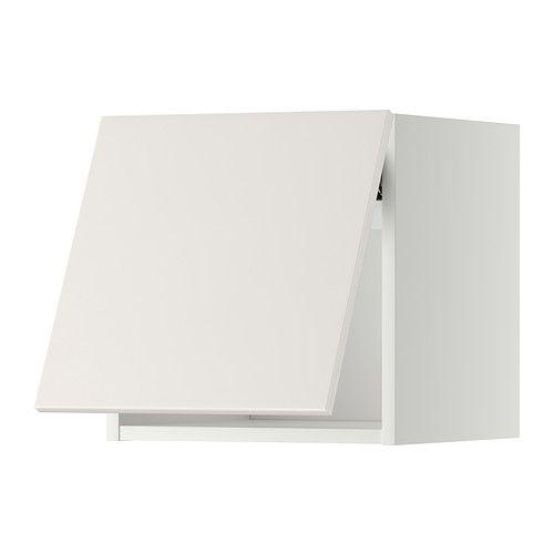 Best Metod Wall Cabinet Horizontal White Veddinge White 400 x 300