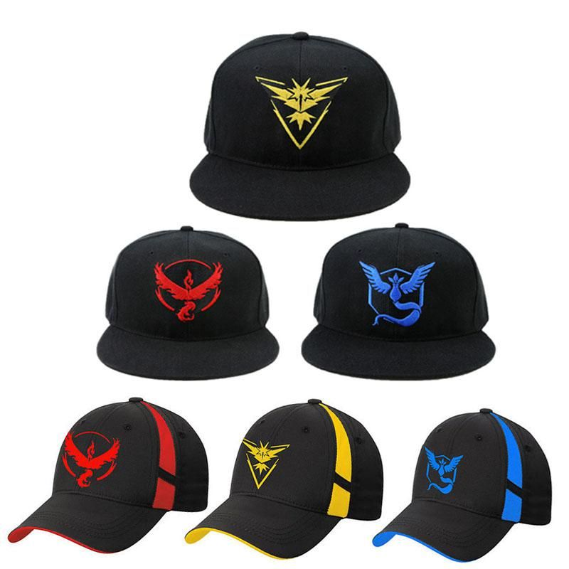 Pokemon Go Cosplay Cap Drake Hip Hop Pikachu Pocket Monster Bone Dad Hat  Baseball Caps Charms Ash Ketchum Casquette. Yesterday s price  US  6.49  (5.69 EUR). 85a185bd873