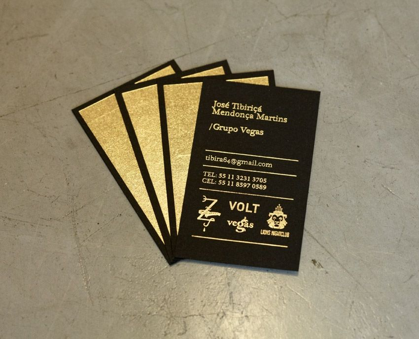 Business card | Black / gold - could do white and black. | graphic ...