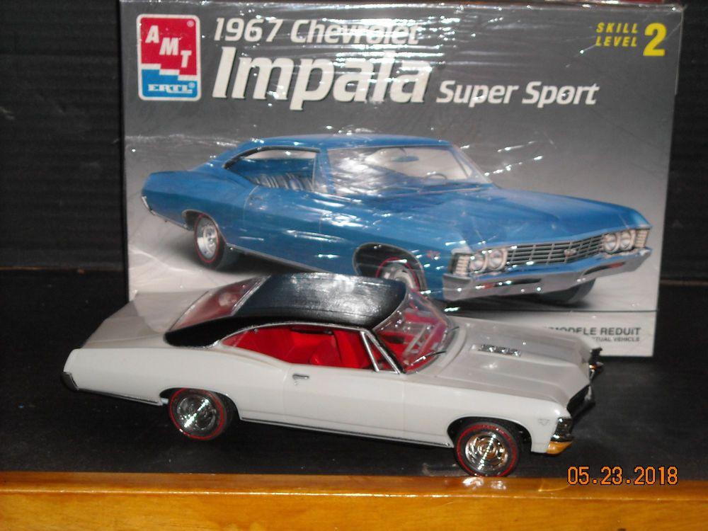 Built Amt Ertl 1967 Chevrolet Impala Super Sport 427 Semi Pro