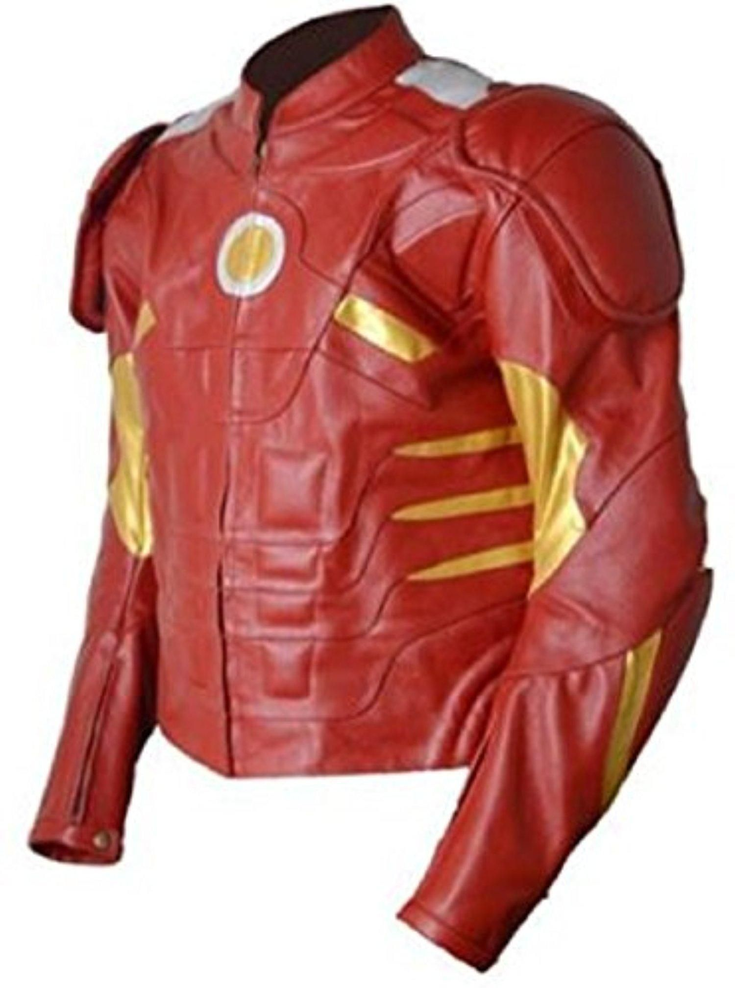 Celebrita X Men S Ironman Leather Motorbike Jacket With Ce Armor Protection Brought To Y Black Leather Jacket Men Motorbike Jackets Mens Leather Jacket Biker