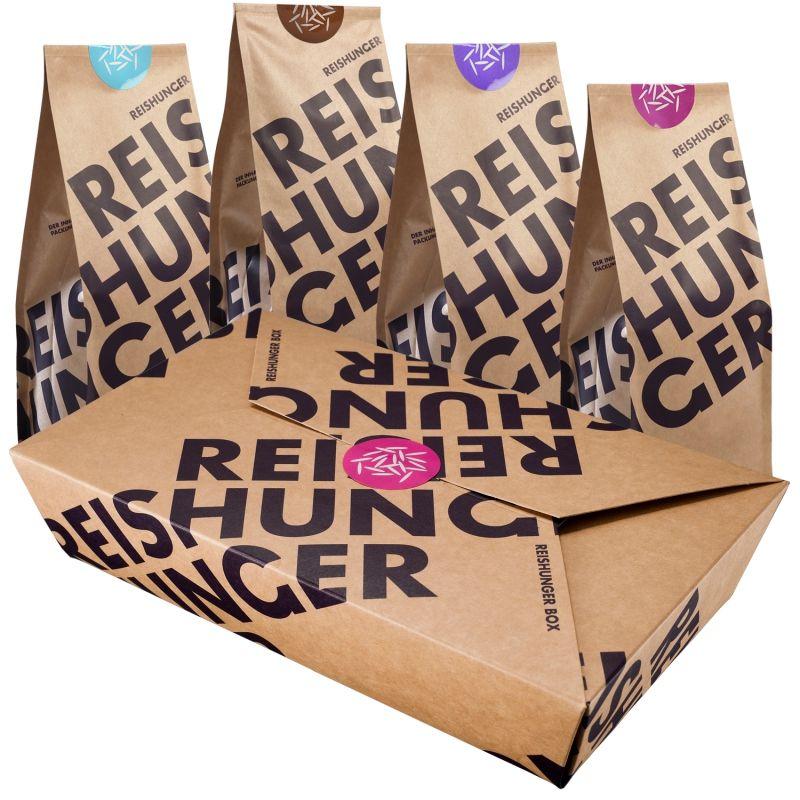 REISHUNGER Asiatische Box - Die besten asiatischen Reissorten in einer (Geschenk-) Box #reishunger #box #asia #gift
