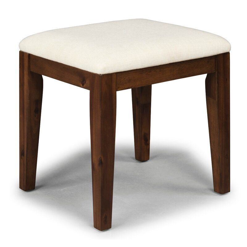 Robbinsdale Vanity Stool Vanity Stool Wrought Studio Furniture