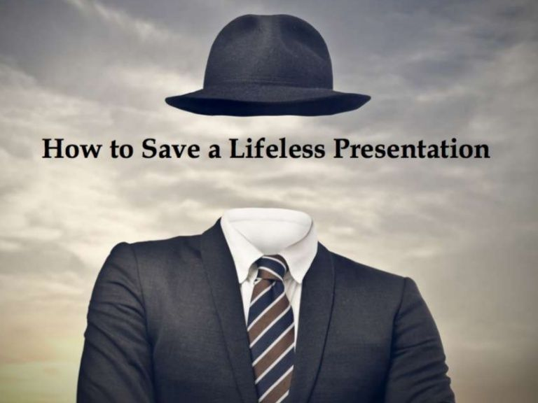 How to Save a Lifeless Presentation by Bruce Kasanoff, Opportunity Shaper at Now Possible on Nov 21, 2013via Slideshare