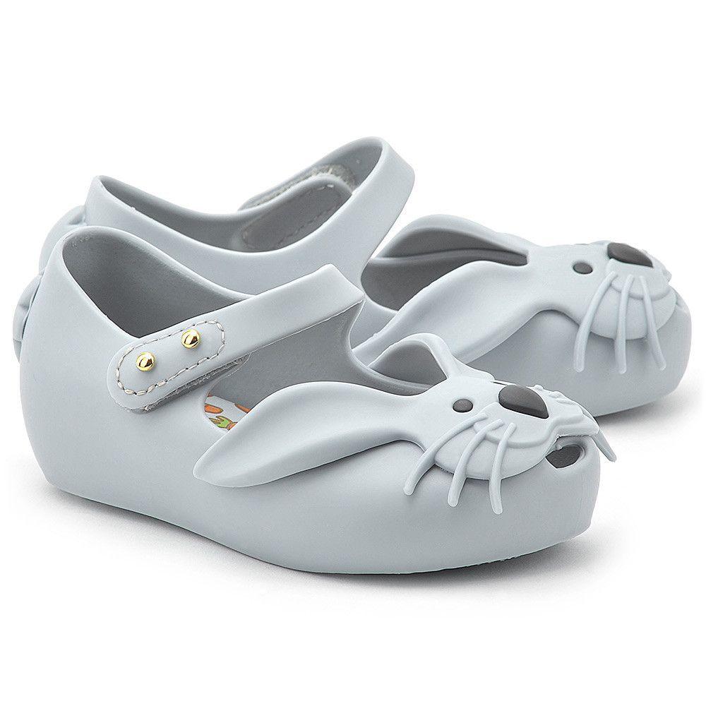 Melissa Rabbit Niebieskie Gumowe Baleriny Dzieciece Baleriny Buty Dzieci Mivo Baby Shoes Shoes Fashion