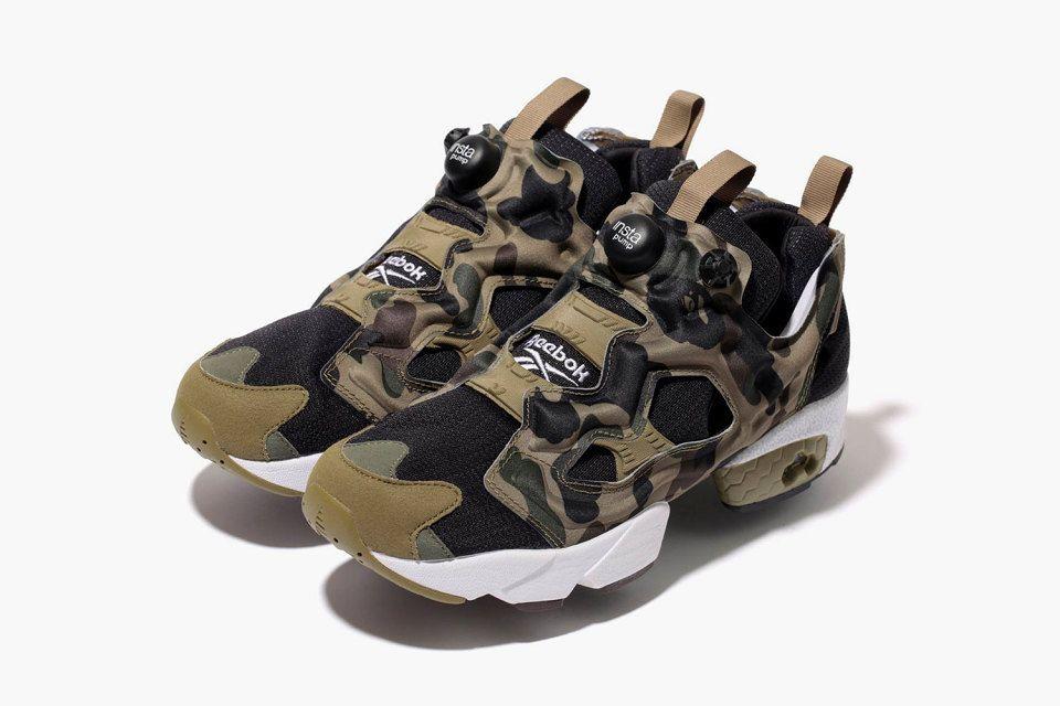 "A Bathing Ape x mita sneakers x Reebok Instapump Fury OG ""Camo ... 39282a238a"