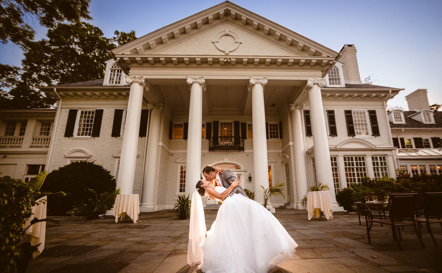 A beautiful wedding at radnor valley country club in villanova pa