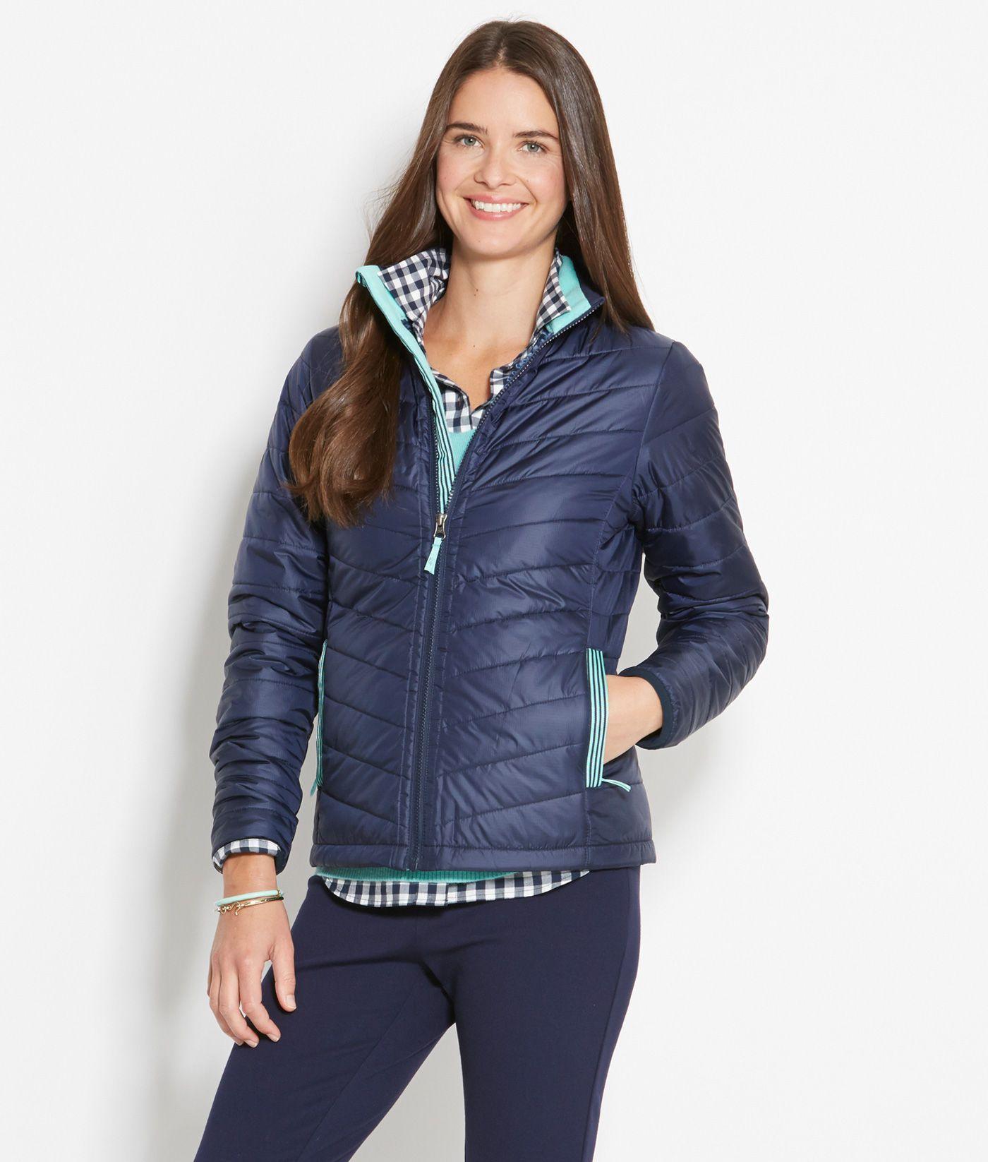 Shop womenus puffer jacket at vineyard vines outerwear pinterest