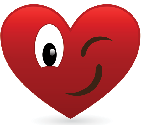 Winking Heart Hearts Pinterest Emoticon Heart And Smiley