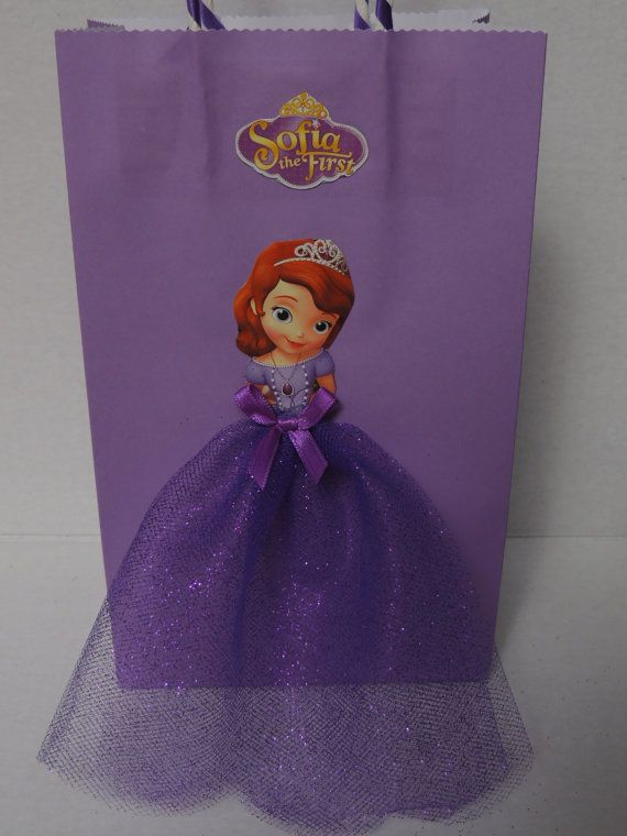 a73d26c2a 10 Pieces Princess Sofia the First Birthday Tutu Favor Goody Gift ...
