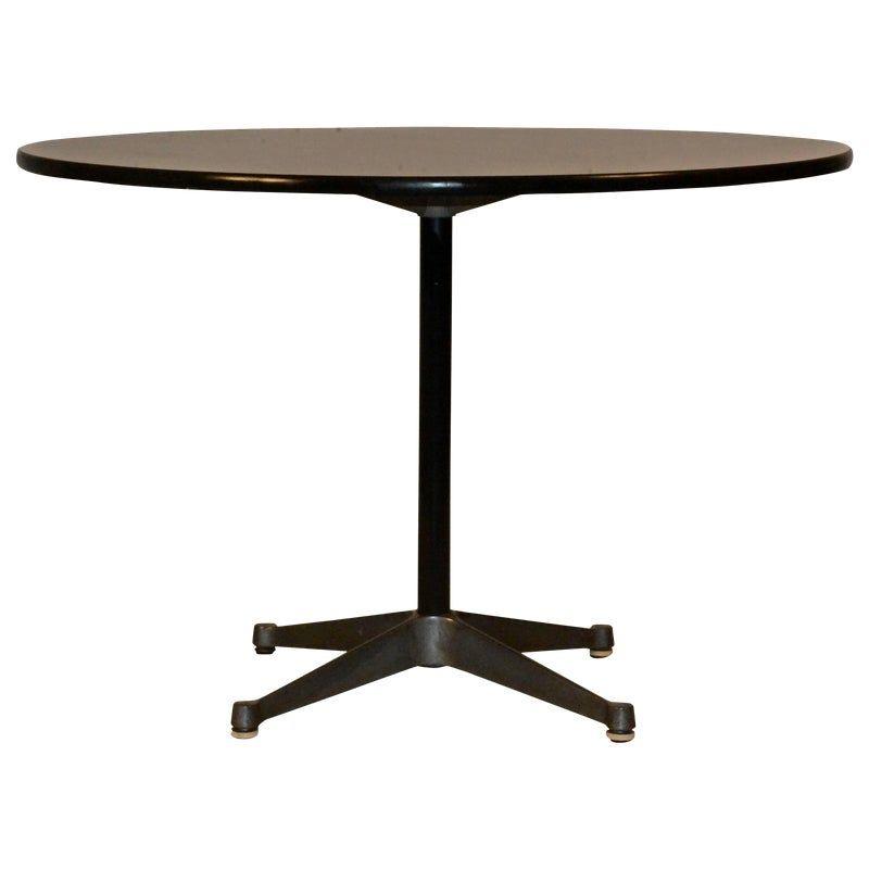 MidCentury Herman Miller Eames Aluminium Table Aluminum