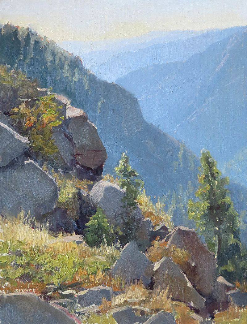 High Lonesome By Kathleen Dunphy Oil 16 X 12 Mountain Landscape Painting Landscape Paintings Landscape