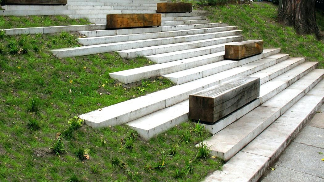 Best Landscape Steps Design Modern Concrete Building Stairs 400 x 300