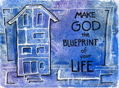 Blueprint nicplynel nicole plymesser nelson pinterest scripture art blueprint nicplynel malvernweather Gallery