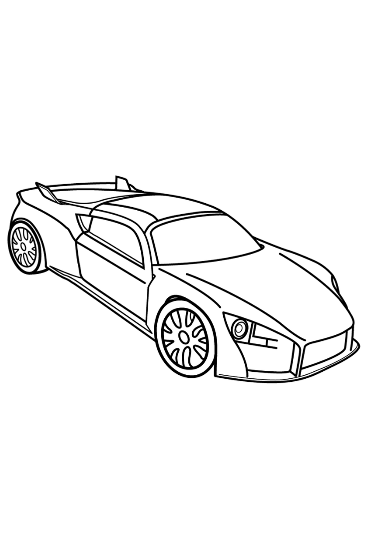 Car Coloring Pages For Kids Drawings Of Car Easy Car Coloring Book For Me Kids Cars Coloring Pages Coloring Pages Shopkins Colouring Pages