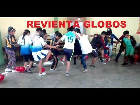 Dinamicas Juegos Para Jovenes Juegos Con Globos Coordinacion