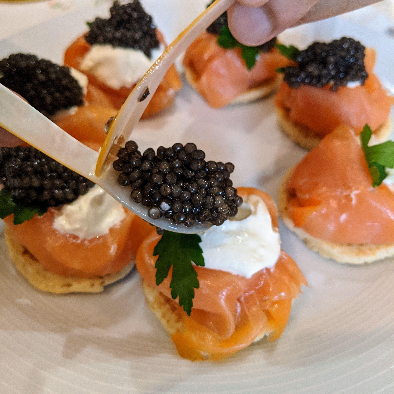 Caviar appetizer in 2020 caviar recipes caviar recipes