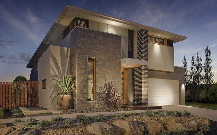 Modern Facade laguna vogue facade 4, new home designs - metricon | house