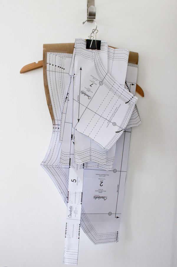 Quick Trick for Storing Paper Patterns | El Atelier | Pinterest ...