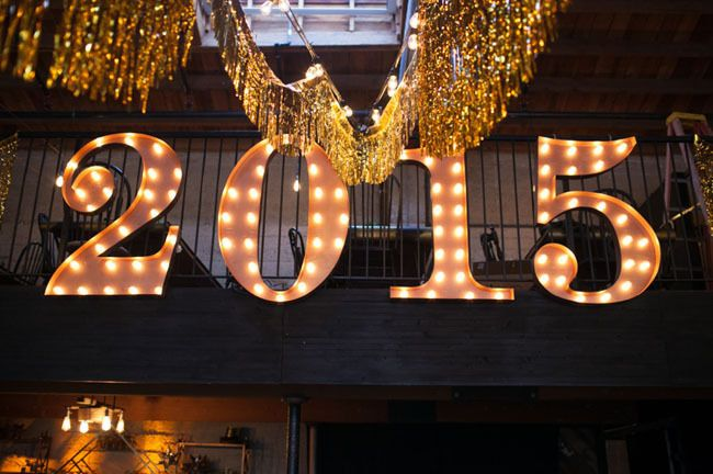 Getting married on NYE? A marquee is a total must!