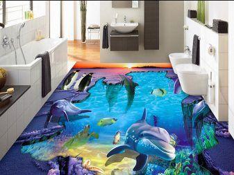 Heaven 3d Interiors Self Leveling Epoxy Floors Floor Tile Design Unique Bathroom Tiles Bathroom Flooring