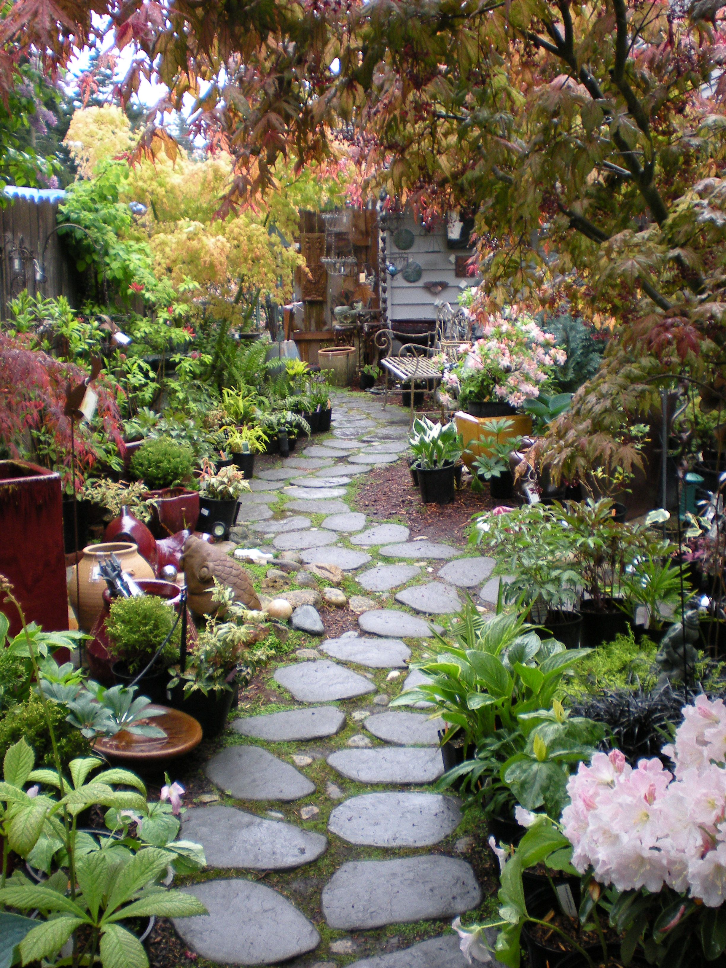 garden walkways | Lynns Gift and Garden: unique garden gifts and ...