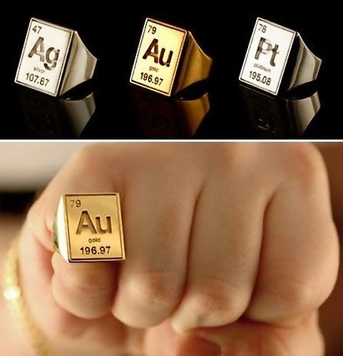 The science nerd in me strikes again :) #jewelry #periodic table #elements #chemistry