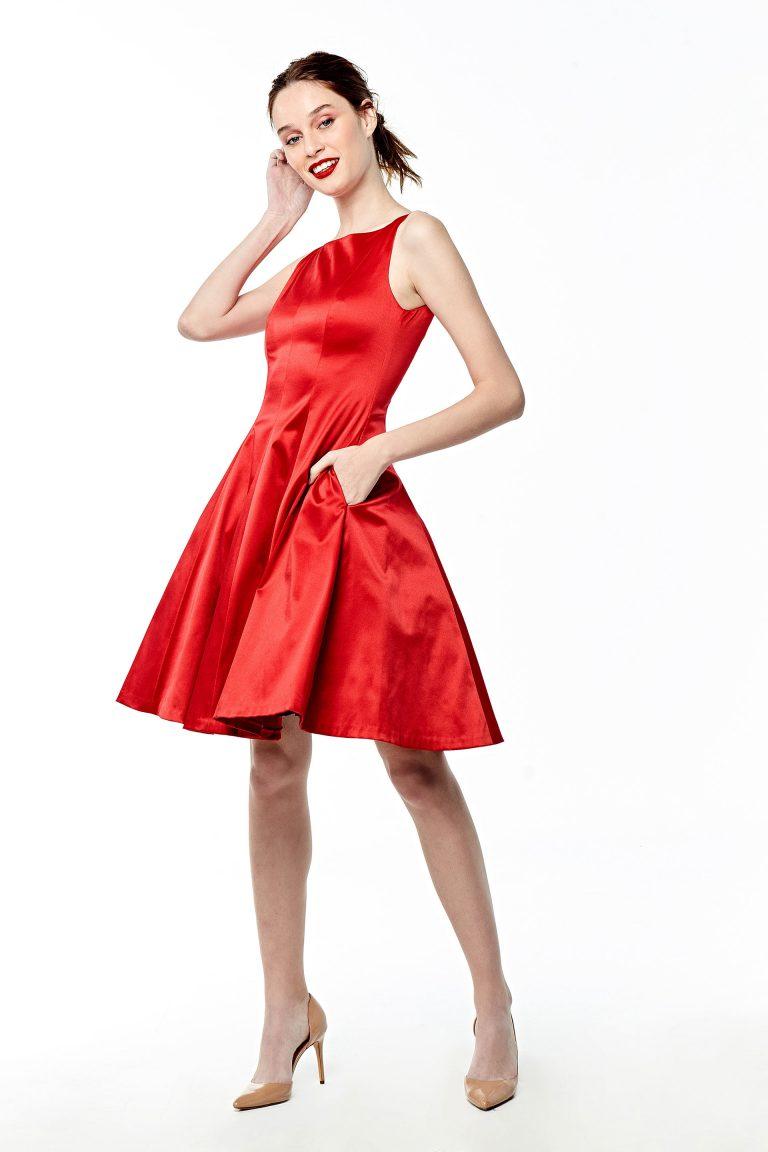 Vestidos De Fiesta Cortos Rojo Formales Sequins Dresses Mujer Ropa de Moda 2020
