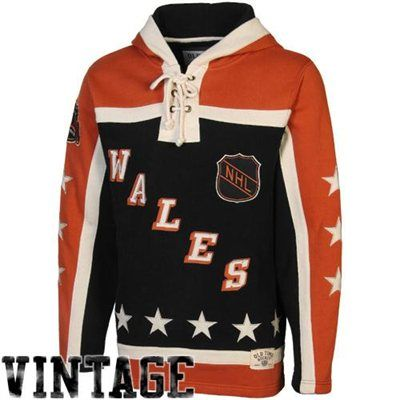Levelwear Hartford Whalers Vintage Retro Logo NHL Hoodie Charcoal