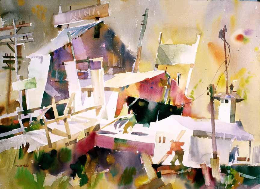 Watercolor Energies Coastal Maine Art Workshops Frank Webb