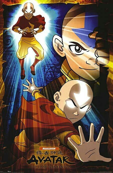 Avatar Aang With Images Avatar Poster