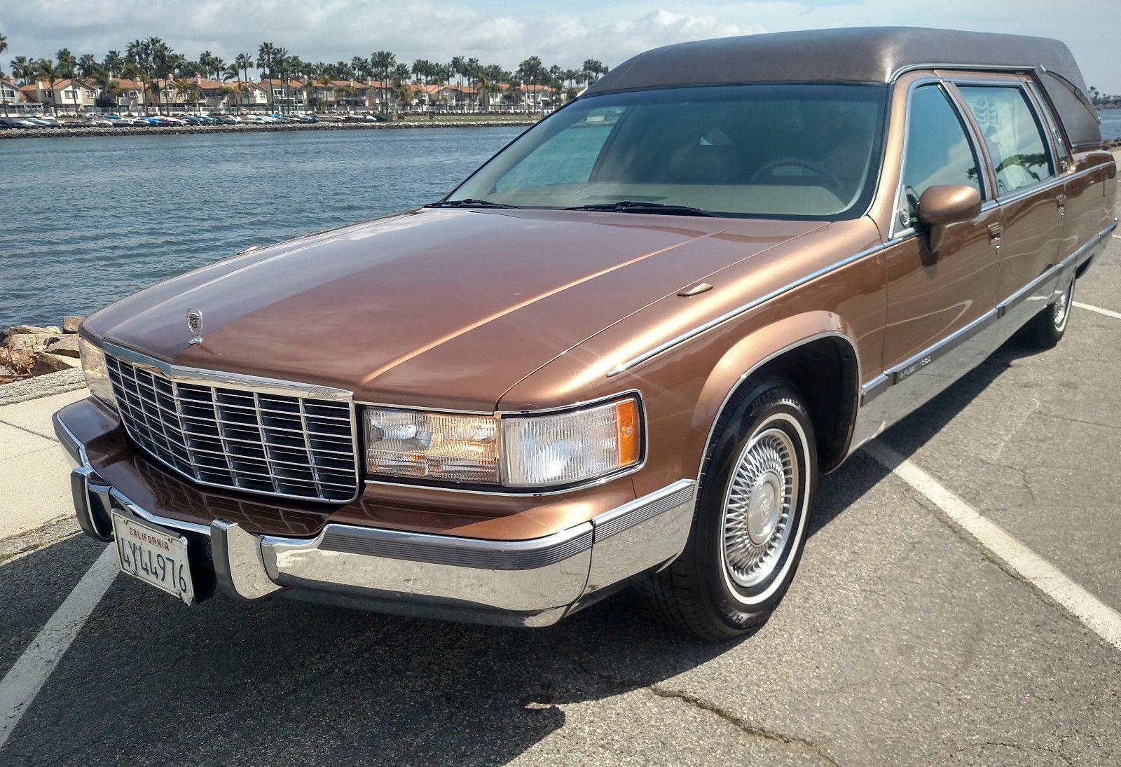 Cadillac 1994 cadillac fleetwood superior california hearse funeral coach