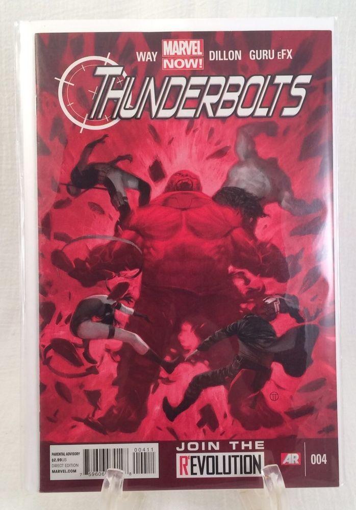 MARVEL THUNDERBOLTS # 004 COMIC BOOK Way Dillon Guru Direct Edition Marvel Now  | eBay