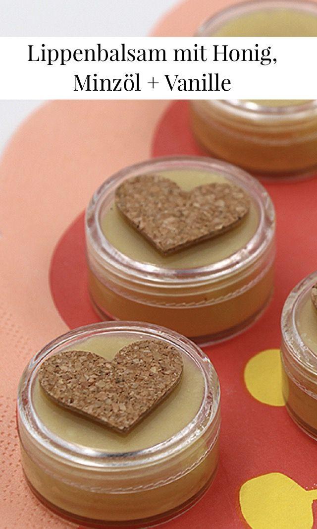 DIY Kosmetik – Natürlichen Lippenbalsam selber machen mit Bienenwachs