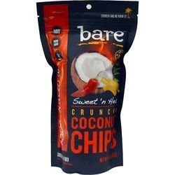 Bare Fruit Coconut Chips- Sweet 'n Heat (12x40 GRM)