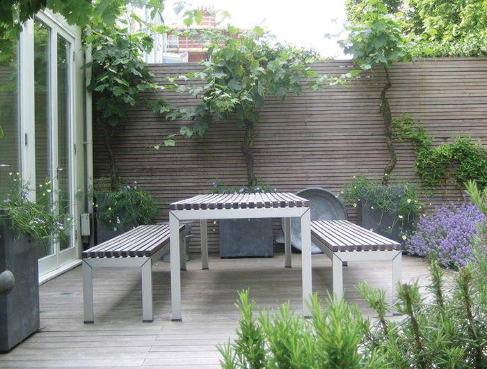 Notting Hill Garden Jinny Blom Garden On A Hill Small Garden Design Garden Spaces