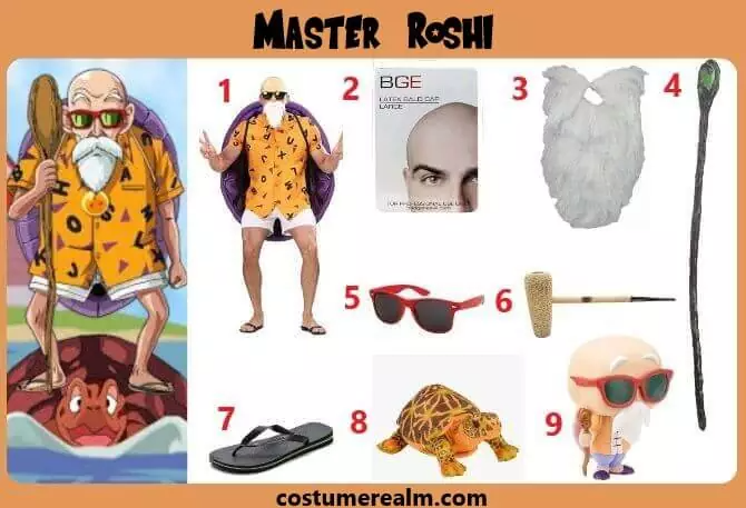 Master Roshi Cosplay Dbz Cosplay Best Cosplay Costumes