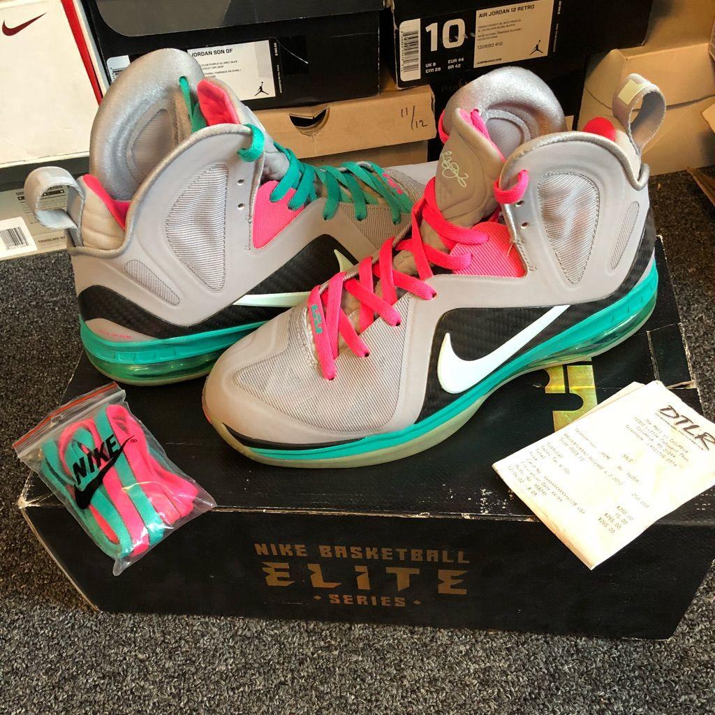 Nike Shoes Nike Lebron 9 Elite South Beachmiami Vice Color