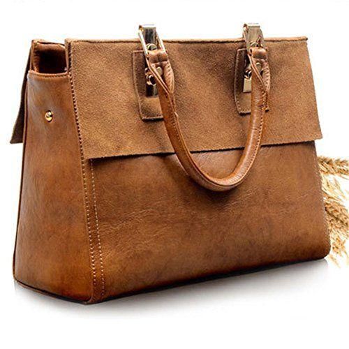 SmileForever Europe and America Retro Leather Female Handbag - http://bags.bloggor.org/smileforever-europe-and-america-retro-leather-female-handbag/