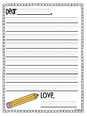 32c19d8492ac61aa44ce55f886603901  St Grade Friendly Letter Templates on to write, for kindergarten, free downloadable blank, format for, past due, 1st grade, for kids pdf, 3rd grade, for first grade, 3rd grade santa,