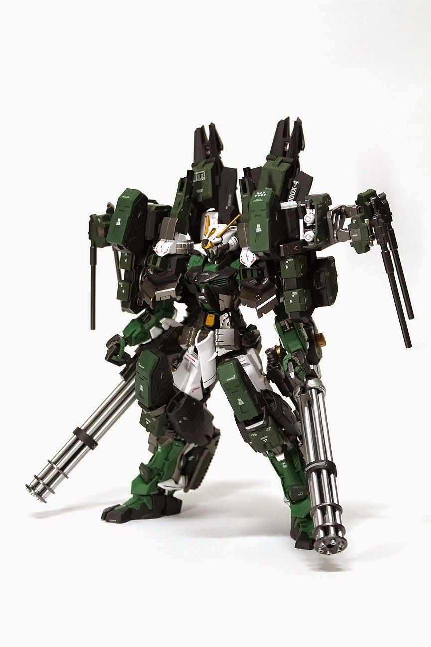 GUNDAM GUY: MG 1/100 Gundam Astray Green Frame and Gear - Custom ...