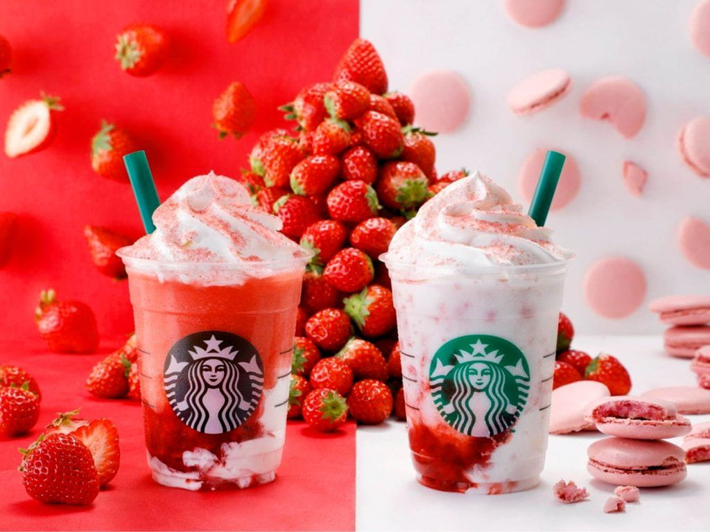 Starbucks Japan Launching New Frappuccinos with Ridiculous