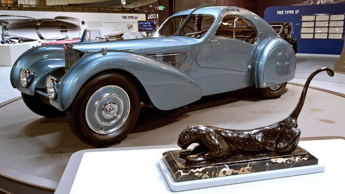 ... with a panther sculpture by Rembrandt Bugatti. Credit John Lamm