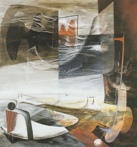 John Tunnard Forecast 1945 With Images Abstract Art