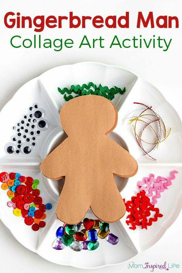 Pin by Cherrise Fournier on daycare ideas | Pinterest | Gingerbread ...