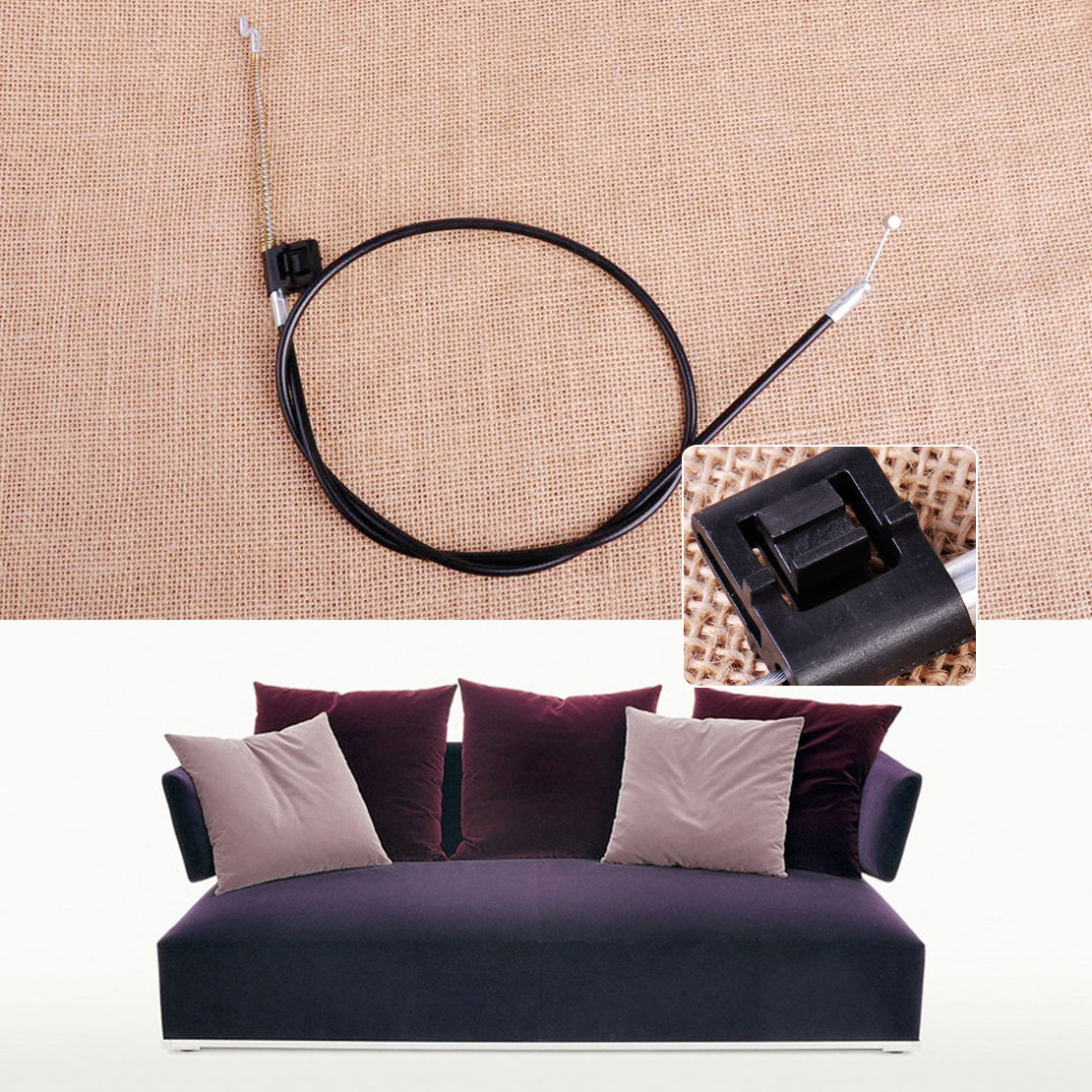 Suite Recliner Sofa Chair Settee Couch Replacement 5mm Cable Barrel