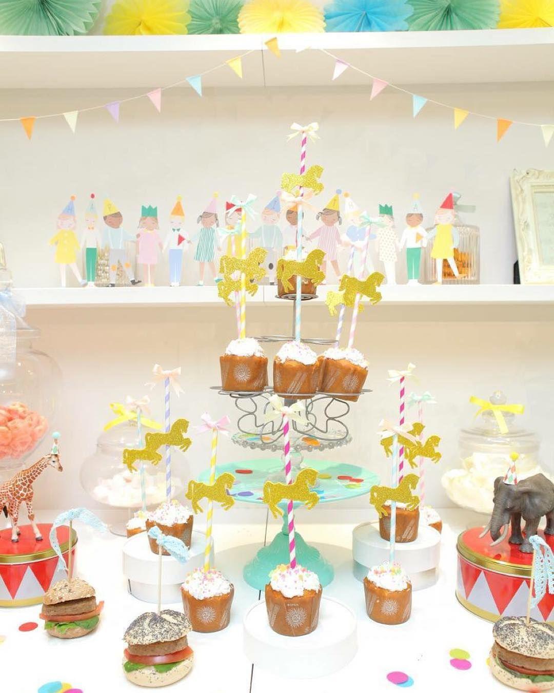 Yuki On Instagram サーカスパーティースタイリング Foodスタイリングをブログにupしました サーカス パーティー パーティー 飾り付け 誕生日 パーティー